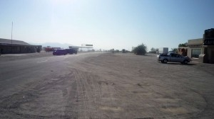 Downtown Desert Center. This road used to be Route 60 when it existed.
