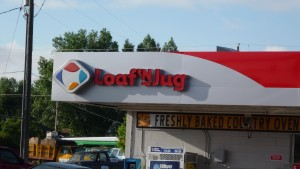Another popular gas station/convenience store. I don't know why, but I really like this name (unlike the Kum and Go, which just made me uncomfortable).