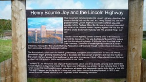 Information on the Lincoln Highway.