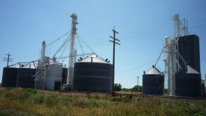 Is it sad that grain elevators really were the most exciting things I saw every day?