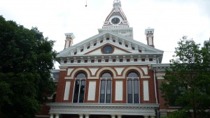 Another look at a courthouse which is in all the towns.