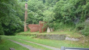 Part of the mill, as well as a surprisingly dry portion of the C&O canal trail. If any of you are entry level engineers, here is a little pointer for you. If all you do to build a trail is dig a two inch deep trough into some land, when it rains your trail may just end up filling up with water. Just saying.